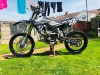 Yamaha yzf 250 2017 Mx motocross bike