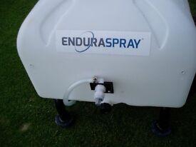 Enduramaxx push / towable 34 litre battery powerd sprayer with long lance. Ideal for larger gardens