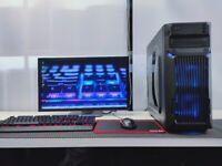 Gaming Computer PC Setup (Intel i5 6600K, 16GB DDR4, GTX 1660)