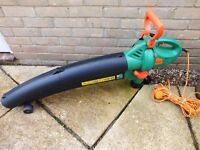 challenge leaf blower and collector includes leaf bag