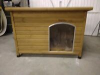 dog kennel or rabbit hutch