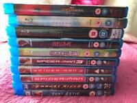 Super Hero Blu Ray Collection