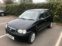 Suzuki 5door black with Petrol 58k low miles - with fservice histroy 1 year mot ideal 1st car