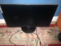 AOC pc monitor 21.5 inch VGA