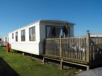 Holiday Caravan 6 berth, 2 bed.Close to amenities,quiet family site.Now taking 2017 bookings.