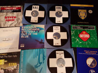 DJ turntables, mixer and 500+ trance / dance records