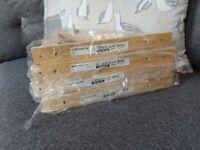 IKEA Shelf Mounts Brand New EKBY VALTER x4