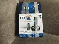 BT 6510 Twin cordless phone with answer machine.