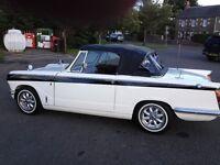 triumph vitesse 2.0 litre convertible