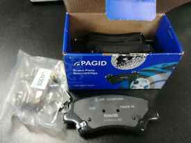 "Pagid front brake pads (x4) for Kia C'eed (second 'JD' generation 2012-present) 15"" wheels"