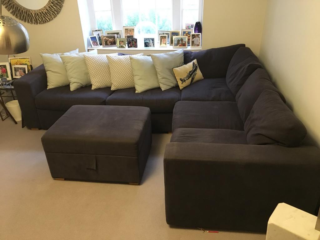 50 large bespoke sofa foot stool in notting hill london gumtree