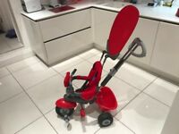 Smartrike 4in1 Red - Great Condition