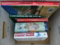 Bundle of five (5) books on US Military History and the US Army