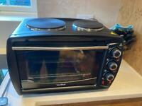 Mini combi oven and hot plates