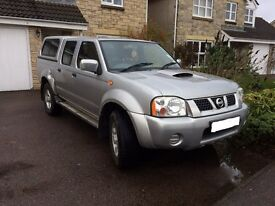 Nissan Navara Pick-Up 4x4. 1 year MOT and Low Mileage