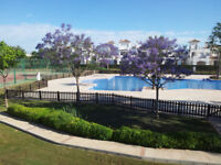 A SELF CATERING 2 BEDROOM 2 BATHROOM HOLIDAY RENTAL ON A LOVELY AND CLEAN RESORT IN MURCIA SPAIN.