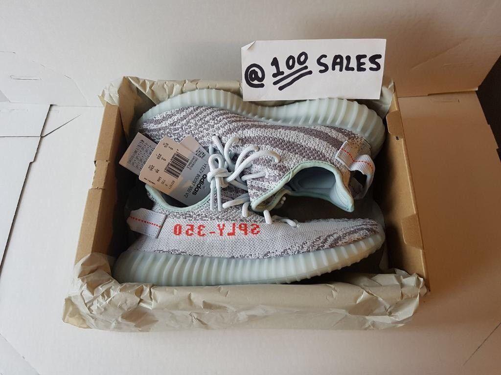 df973d87d ADIDAS x Kanye West Yeezy Boost 350 V2 BLUE TINT 16.12.17 With Original  Receipt 100sales