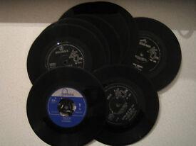 VINYL SINGLES various 1960's GROUPS.