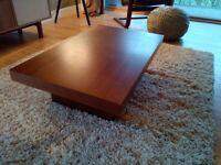 FREE Coffee Table - Laminated walnut effect