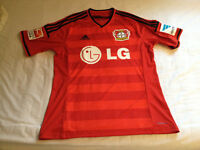 Son #7 original Adidas Bayer Leverkusen jersey with logos and tags