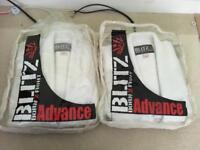 2 x Adult Blitz Heavyweight Gi - size 165