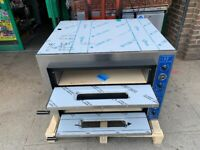 NEW QUALITY ELECTRIC 2 DECK PIZZA OVEN CATERING COMMERCIAL KITCHEN FAST FOOD RESTAURANT BAKERY SHOP