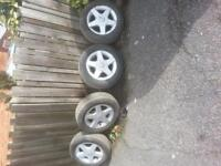 alloy wheels and good tyres