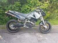 KTM DUKE 620 640 660 LC4 IMMACULATE, ONLY 12,000 MILES, BLACK