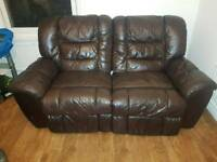 2 seater electric leather sofa