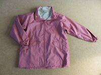 Jacket Ladies – Regatta – Size 18 – waterproof with concealed hood, NEW - unworn