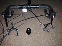 Racing handle bars