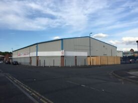 SHOPS AND STORAGE UNITS TO LET - BRAND NEW READY TO MOVE IN UNITS - 600 TO 25000 SQ FOOT MANCHESTER