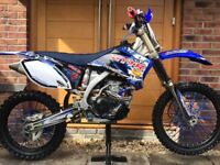 YZF250 2009 MODEL with STEEL 3 bike trailer included