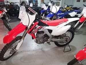 2016 honda CRF450R DEMO