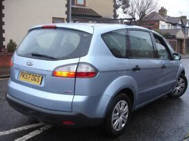 !!! FORD S MAX 1.8 TDCI DIESEL 2007 PLATE 7 SEATER MPV !!!