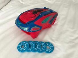 Spider-Man disc shooter