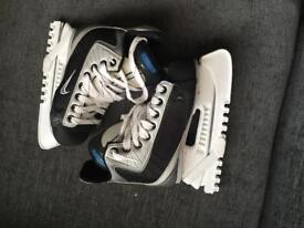 Ice skates size 14
