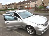 Mercedes Benz c 220 w 203 2004 estate diesel parts available radiator alloy wheels bonnet wing