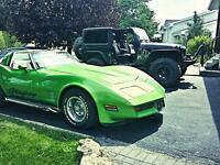 1980 Chevrolet Corvette super négo!!