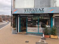 Kebab Restaurant & Take-Away - Fully Equipped + Clean - 14 Year Lease