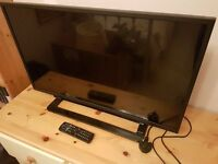 toshiba TV/DVD combi 32 inch as new