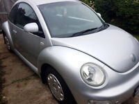 vw new beetle, just serviced. ice cold air con.