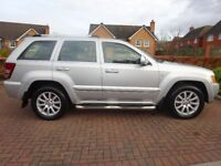 Jeep Grand Cherokee 3.0 CRD V6 Overland 4x4 5dr Lovely Condition, Many Extras, 4 New Tyres, 2 keys