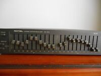 ROTEL RE-1010 STEREO OCTAVE EQUALIZER