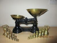Brass Kitchen Scales