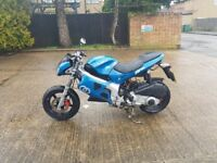 gilera dna 125cc registered as 50 auto