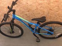Blue ridgeback mx4 adult bike for sale