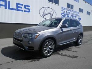 2016 BMW X3 Xdrive AWD!! Exec Package, Heads Up Dis, Navi