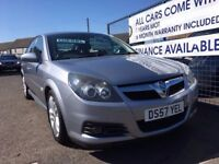 Vauxhall Vectra Diesel 2007 Silver, Sale/Finance Forth Carz Car Finance Specialists