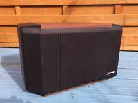 BOSE 301 series iv wood bookshelf speakers.